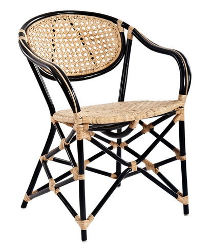 Quay Cane Cafe Dining Chair