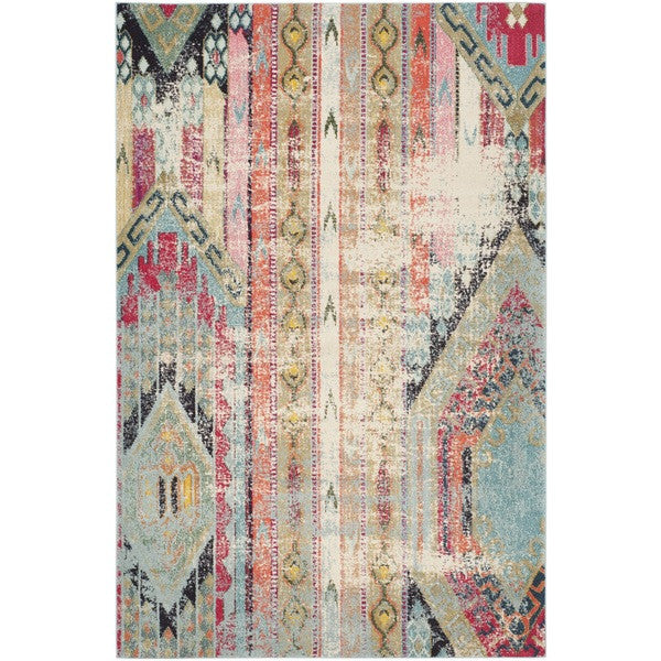 furniture rentals, ooh events, event rentals, rental, rentals, wedding rentals, rug, rugs, decor, persian rug , abstract rug, colorful rug, pink, Monaco multi rug, aztec print