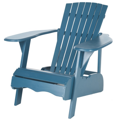 furniture rentals, ooh events, event rentals, wedding rentals, lounge, lounge rentals, blue, blue Adirondack chair, Adirondack chair, blue chair, outdoor chair, dock chair, rental, rentals