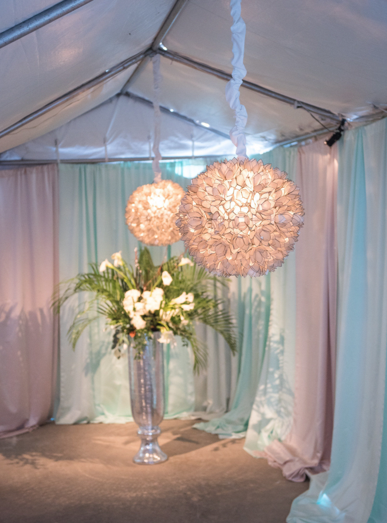 Flower Burst Chandelier