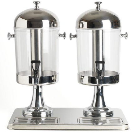 Dual Stainless Beverage Dispenser