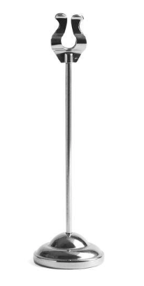 Tall Stainless Table Stanchion 8""