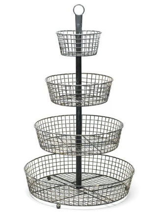 4-Tier Basket Stand