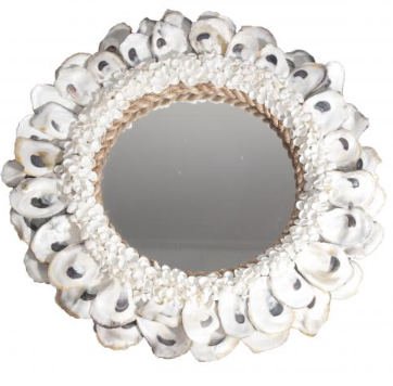 Oyster Mirror Cake Plate