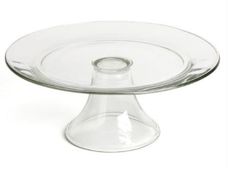 Simple Glass Cake Stand