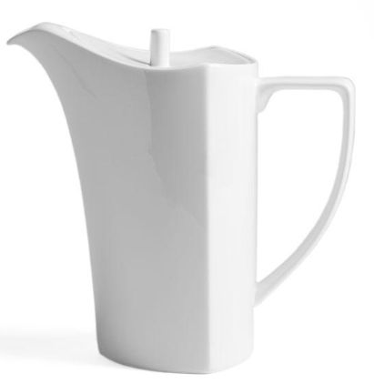 White Ceramic Pitcher