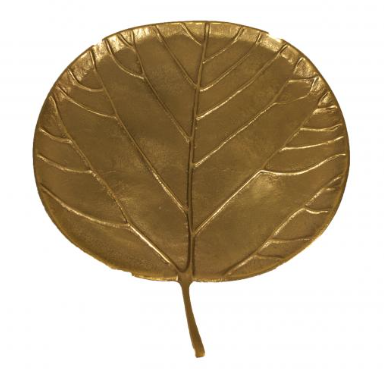 Gold Aspen Leaf Trays