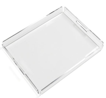 Lucite Passing Trays