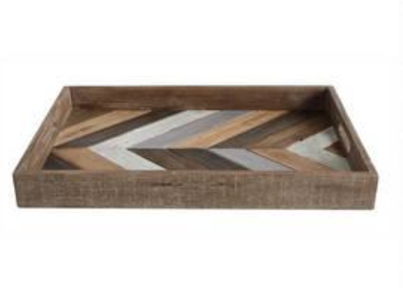 Wooden Shiplap Tray