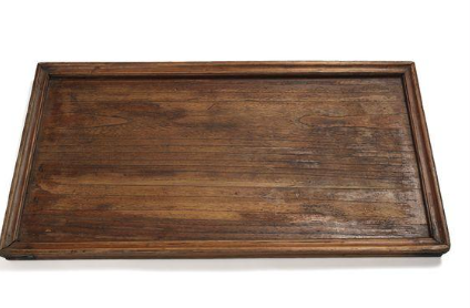 Assorted Vintage Wooden Tray Rectangular