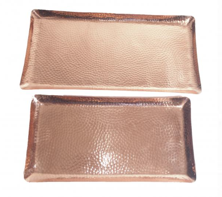 Rectangular Copper Trays