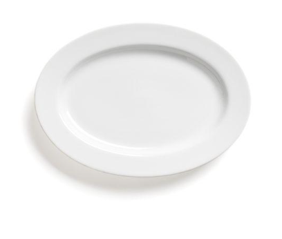 Classic White Oval Serving Platter