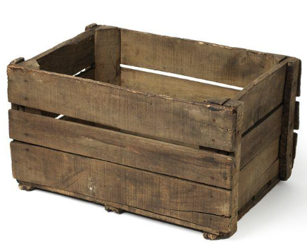 Barnwood Apple Crate