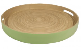 Green Passing Tray