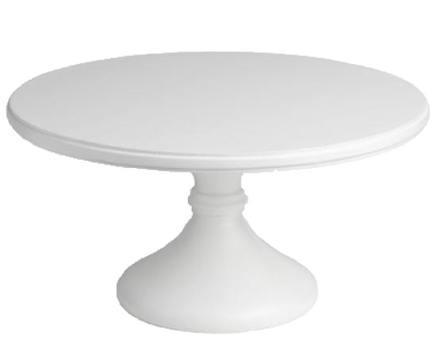 White Wooden Cake Stand