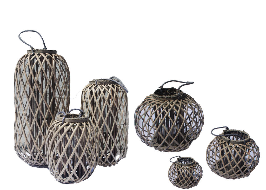 Grey Willow Lanterns