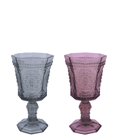 Grey & Pink Florette Glasses