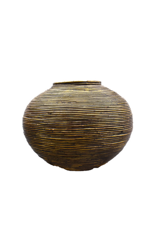 Gold Wrapped Urn