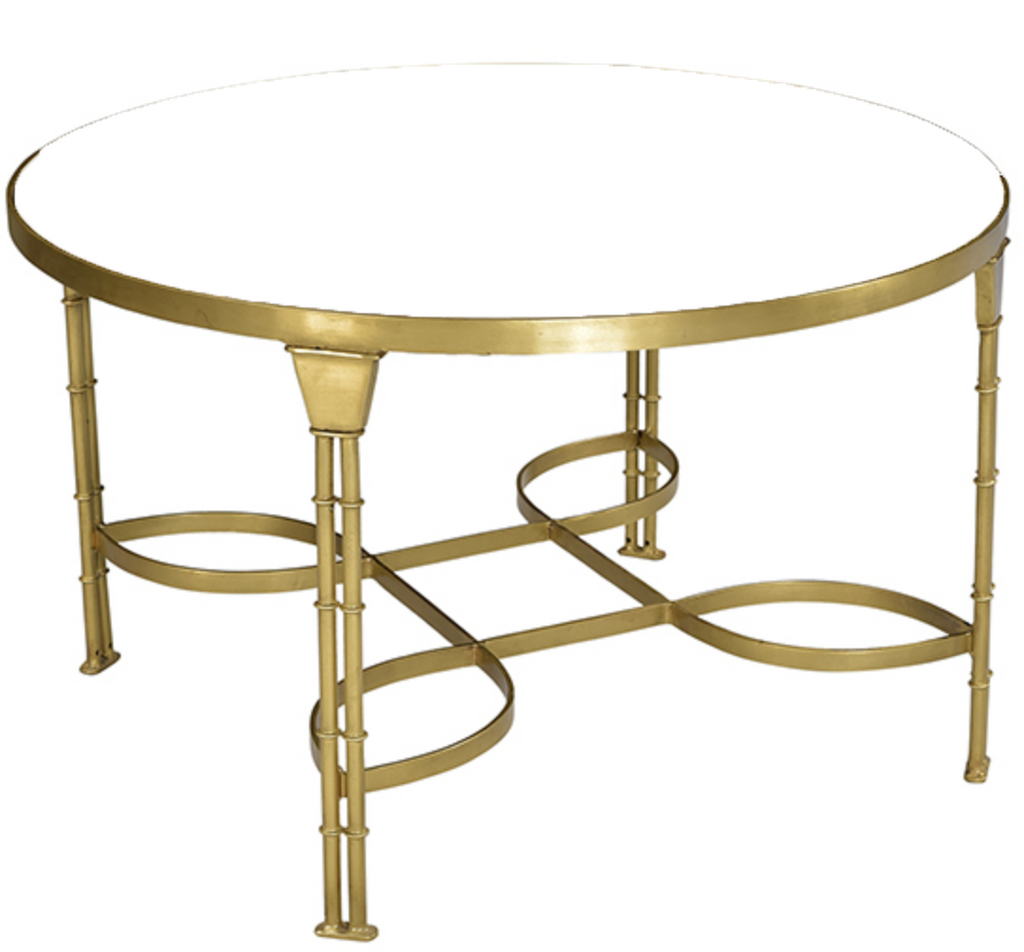 - Round Glass Top Coffee Table – Ooh! Events Design Center