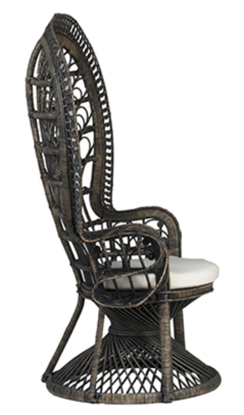 peacock chair, mrs peacock, peacock chair, bohemian chair, ooh events