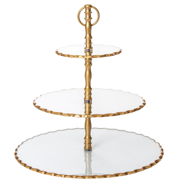 Harper Three Tiered Dessert Stand