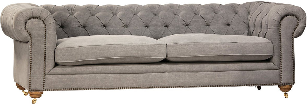 Grey Tufted Sofa (Male)