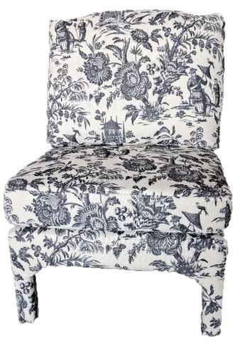 Toile Side Chair