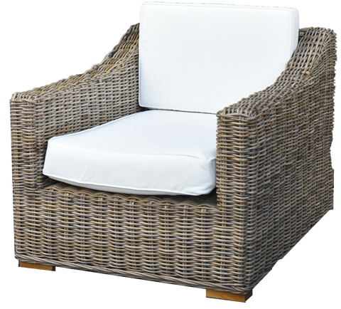 Natural Wicker Outdoor Chair