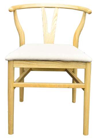 Wishbone Chairs-Natural