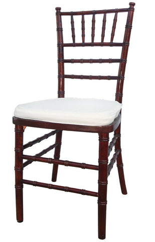 chair, ceremony seating, dining seating, wedding seating, chairs, rental chairs, chairs for rent, charleston, wedding rentals, mahogany chivari, mahogany chairs, mahogany chairs for rent