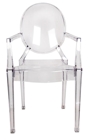 chair, ceremony seating, dining seating, wedding seating, chairs, rental chairs, chairs for rent, charleston, wedding rentals, ghost chair, lucite chair, lucite ghost chair, clear, plastic, modern ceremony chairs, modern dining chairs, ghost chairs for rent