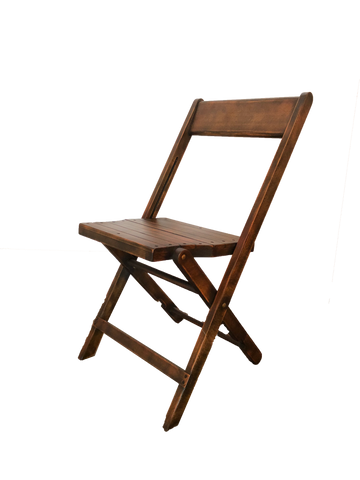 folding chair, rental chair, beechwood folding chair, chair rental, ooh events chair rental, wooden folding chair