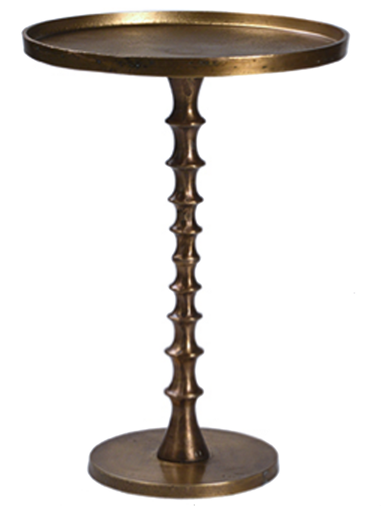 rentals, table rentals, coffee table, coffee table for rent, coffee table, side table for rent, rental tables, pedestal brass candlestick side table, brass candlestick side table, brass side table