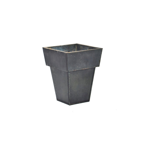Black Matte Metal Planter