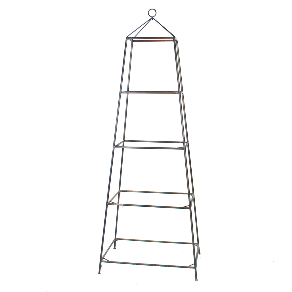 Wide Iron Etagere