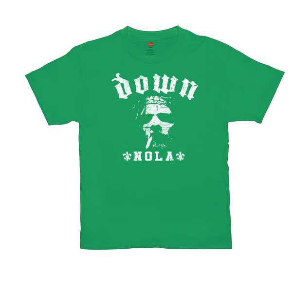 DOWN St. Paddy's Day Green Tee