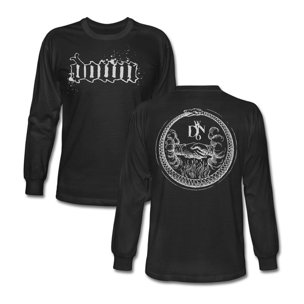 DOWN Handshake Long Sleeve Tee