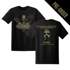 Down Quarter Century Throwdown Event Tee