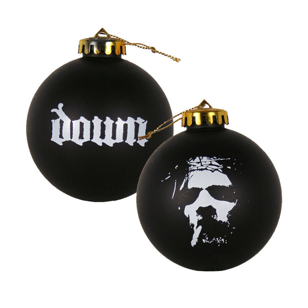DOWN Smoking Jesus Ornament