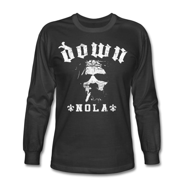 DOWN Smoking Jesus white Nola Longsleeve Tee