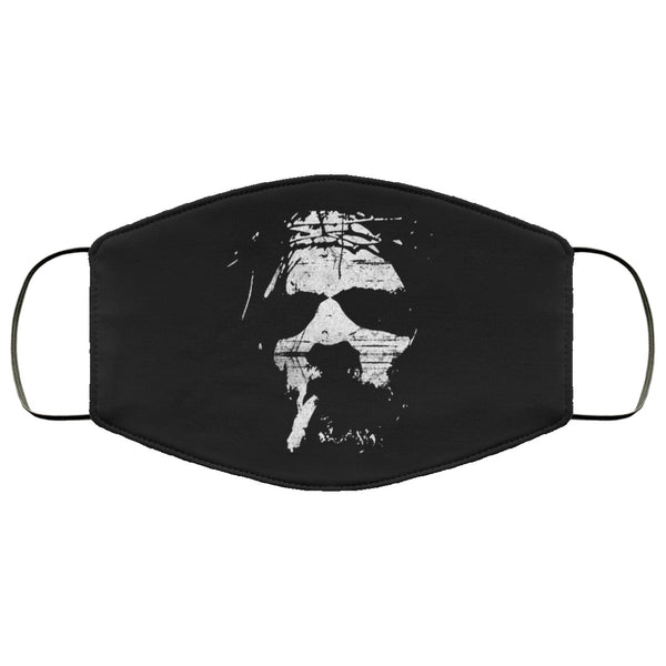 Smoking Jesus Face Mask
