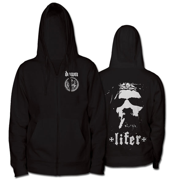 DOWN Lifer Zip UP Hoodie-X-Large