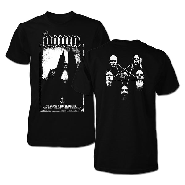 DOWN Steeples Photo Tee-X-Large