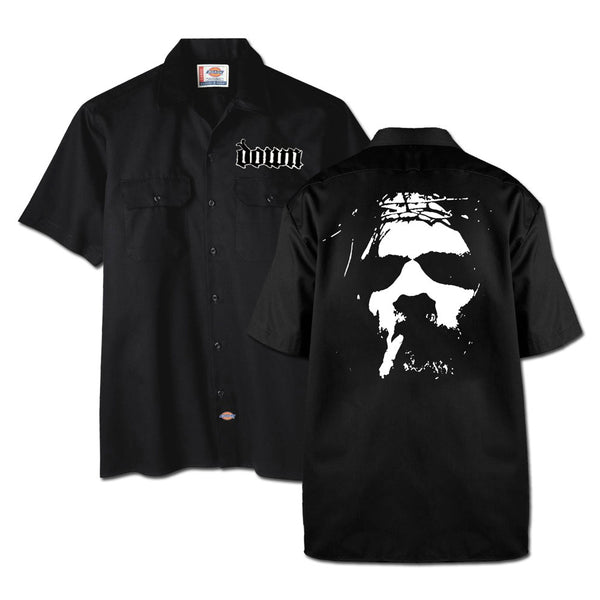 Smoking Jesus Workshirt - X-Large