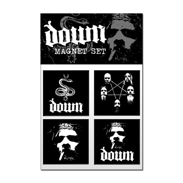 DOWN Magnet Set