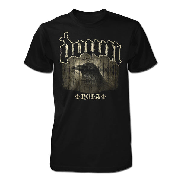 DOWN NOLA Crow T-Shirt - X-Large