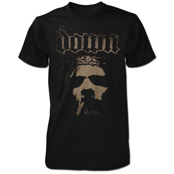 Smoking Jesus Brown Logo T-shirt-XXX-Large