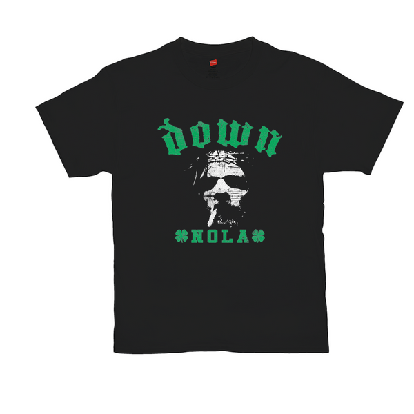 DOWN St. Paddy's Day Black Tee