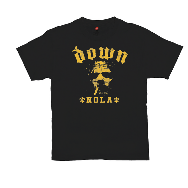 Gold Nola Black Tee