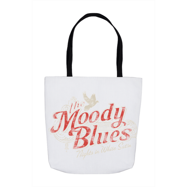 Moody Blues Nights In White Satin Tote Bag